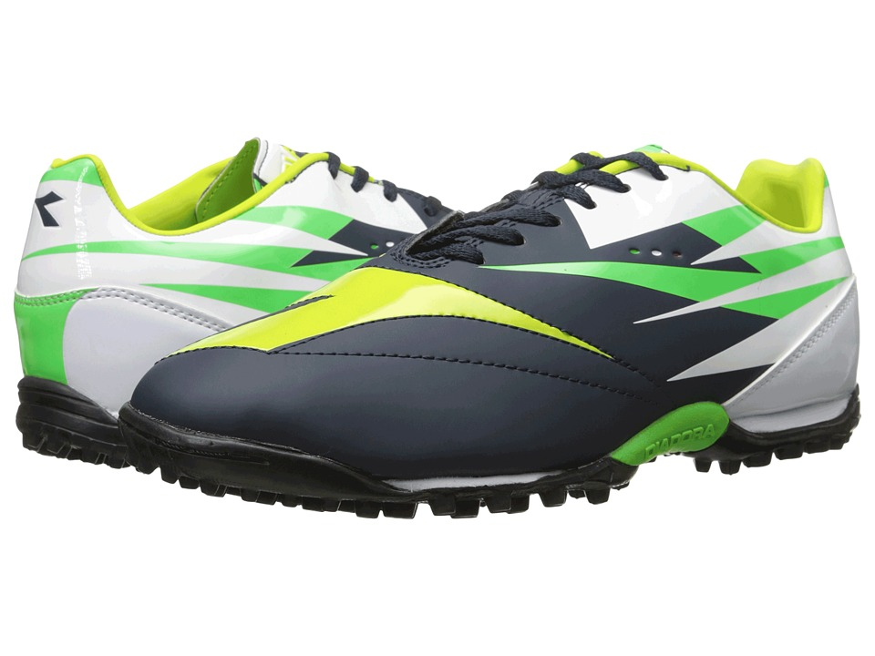Diadora - DD-NA 2 R TF (Tuareg Blue/Fluo Grey) Men's Shoes