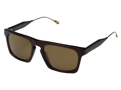 Oliver Peoples West - San Luis (Molasses/Canyon Polarized) Fashion Sunglasses