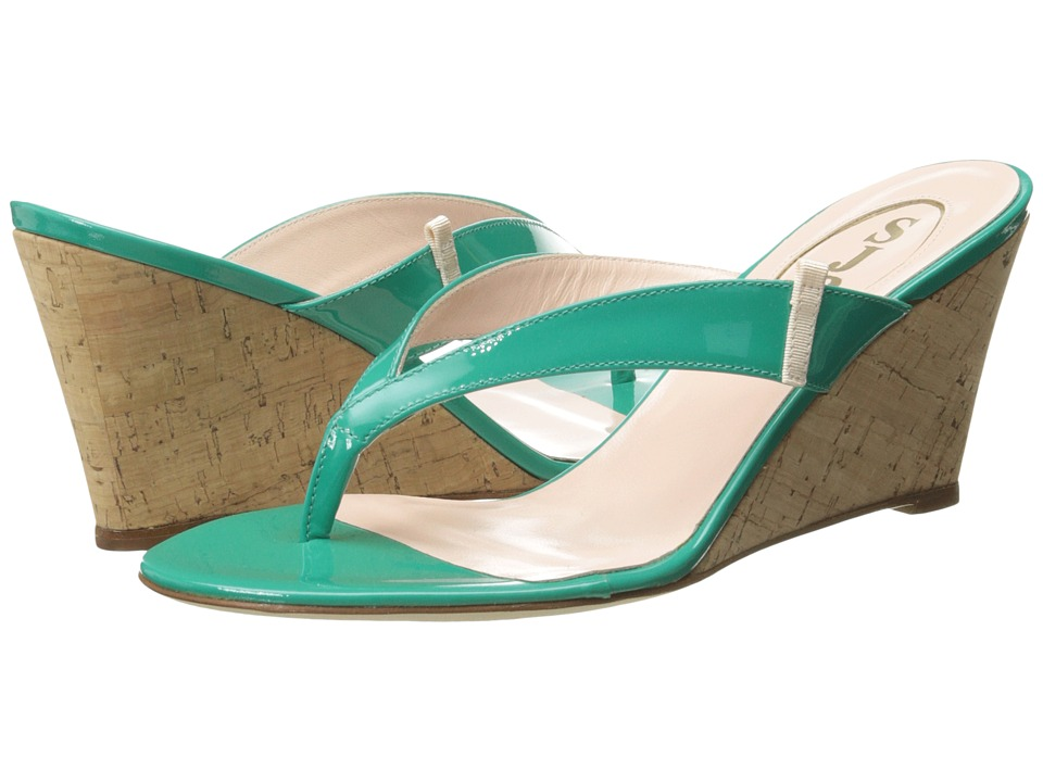 SJP by Sarah Jessica Parker - Raquel (Turquoise) Women's Wedge Shoes