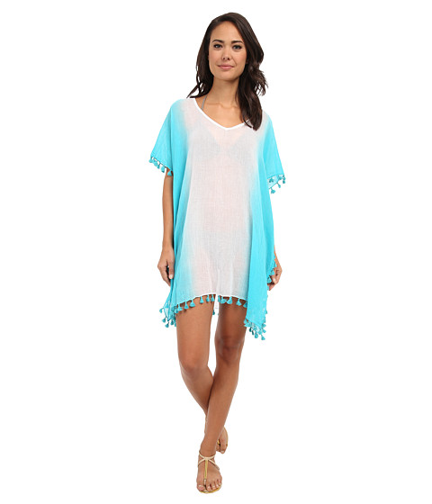 Seafolly - Splendour Kaftan Cover-Up (Seychelles) Women