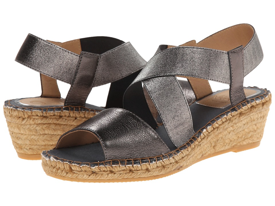 Vidorreta - Love (Graphite) Women's Wedge Shoes
