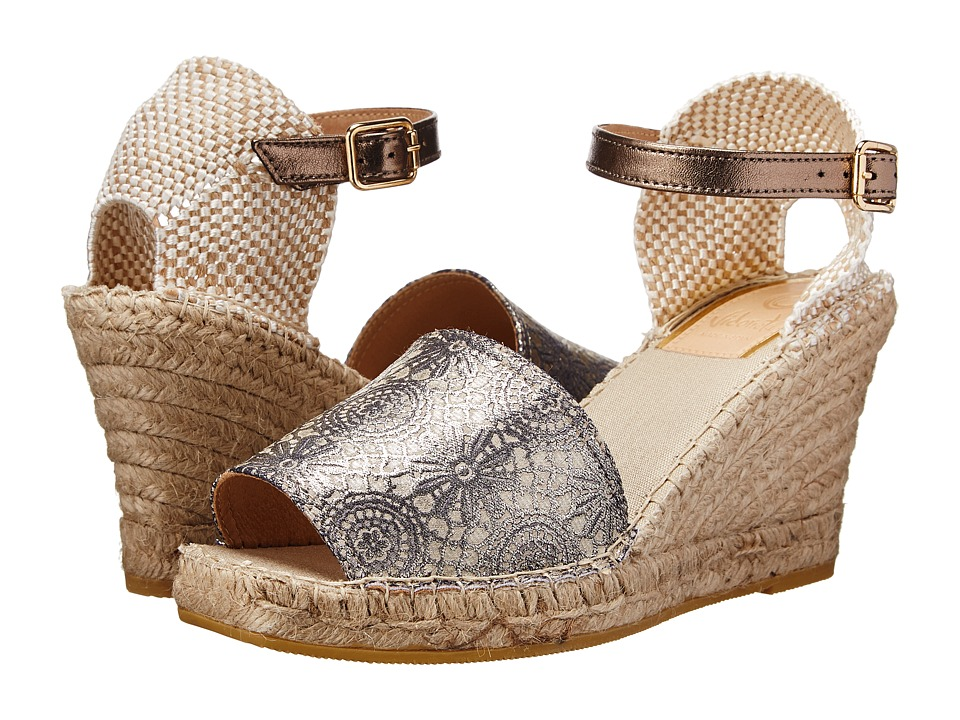 Vidorreta - Lily (Graphite Lace) Women's Wedge Shoes