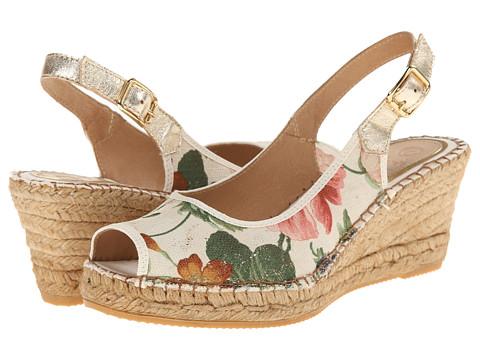 Vidorreta - Laguna (Beige Floral) Women's Wedge Shoes
