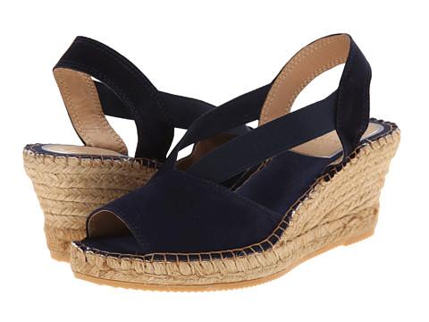 Vidorreta - Luca (Blue Suede) Women's Wedge Shoes