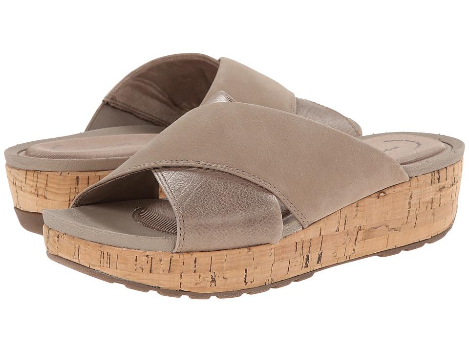 Rockport Land Boulevard Cross Slide Flatform Sandal (Tuffet) Women
