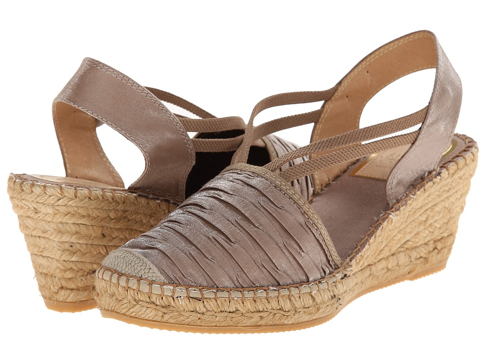 Vidorreta - Logan (Light Brown) Women's Wedge Shoes