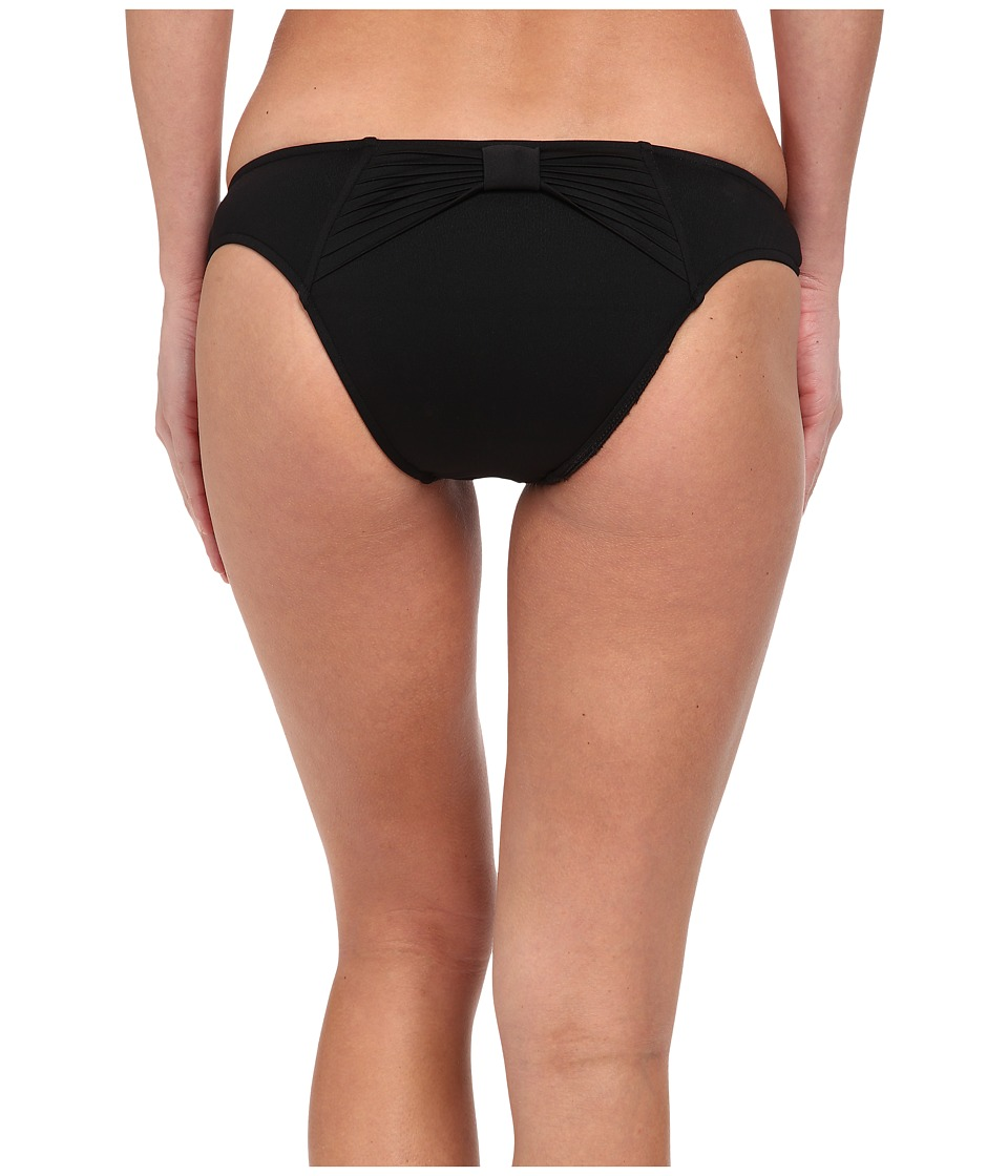 Seafolly - Goddess Bow Back Brazilian (Black) Women's Swimwear