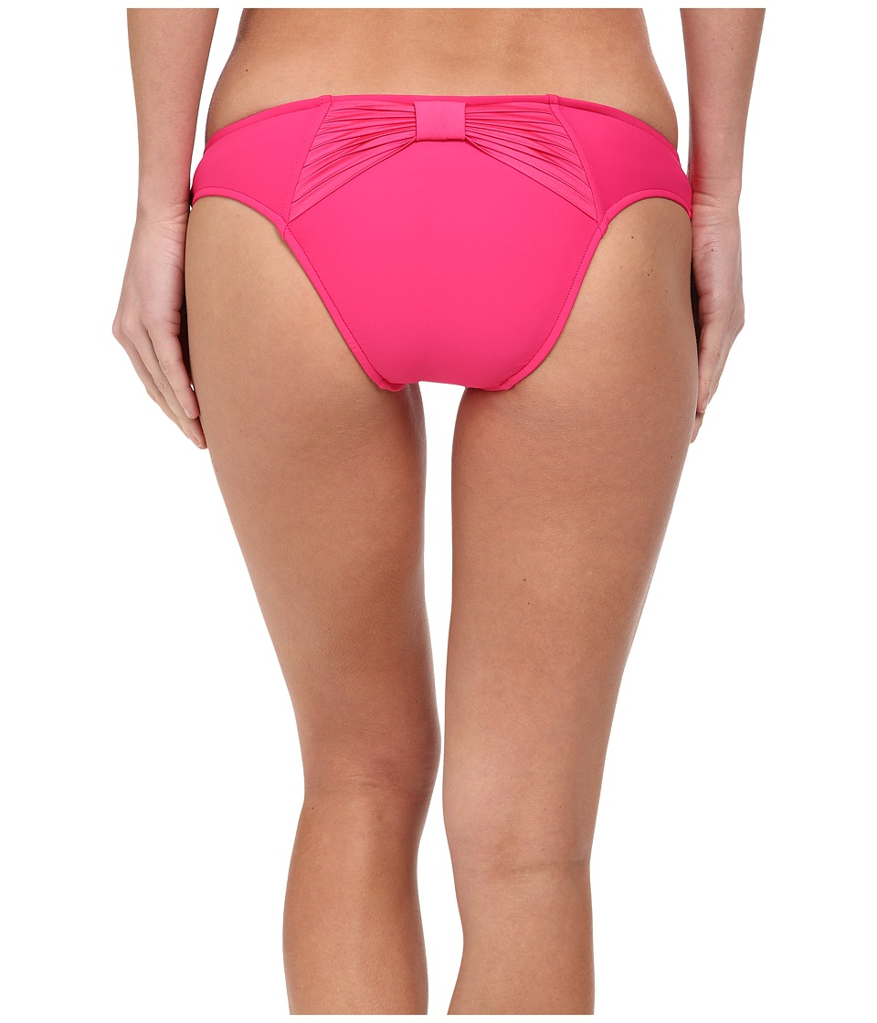 Seafolly Bow Back Brazilian (Raspberry) Women