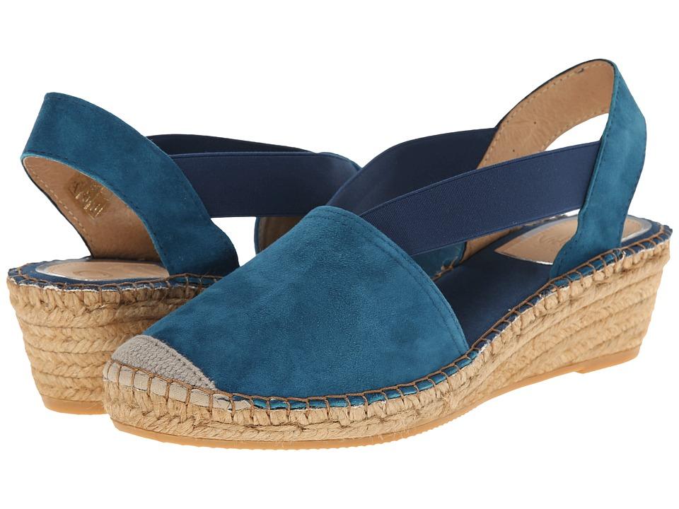 Vidorreta - Luna (Petroleo) Women's Slip on Shoes