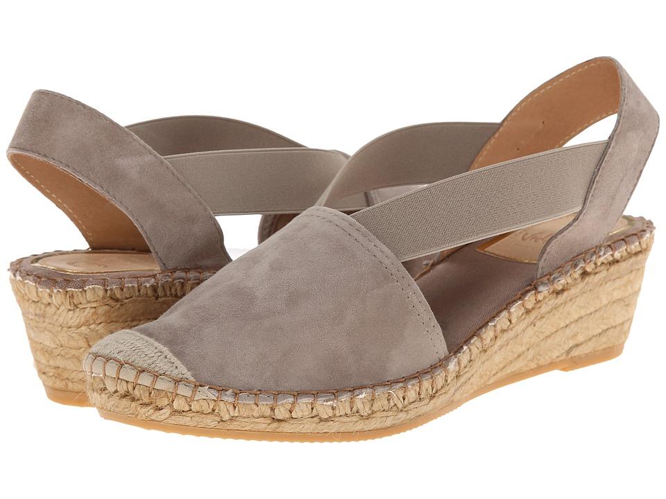 Vidorreta - Luna (Stone) Women's Slip on Shoes