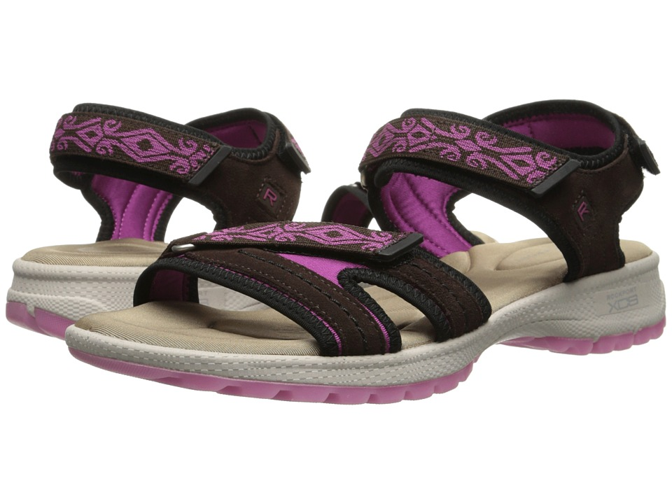 Rockport - Rocsports Lite Sport Web Quarter Strap Sandal (Ebano Suede) Women
