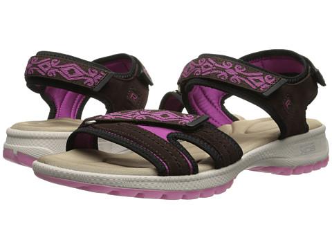 Rockport - Rocsports Lite Sport Web Quarter Strap Sandal (Ebano Suede) Women's Shoes
