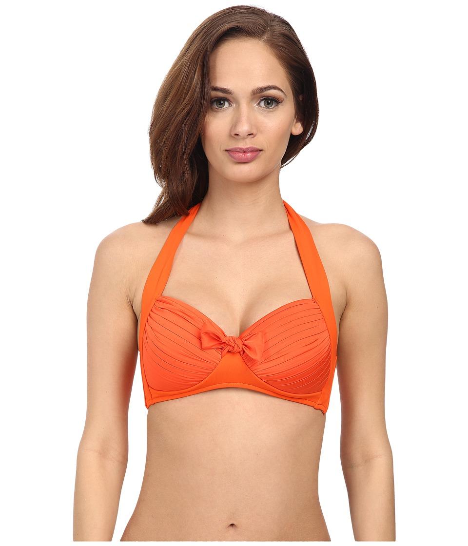 Seafolly - Soft Cup Halter (Tangelo) Women's Swimwear
