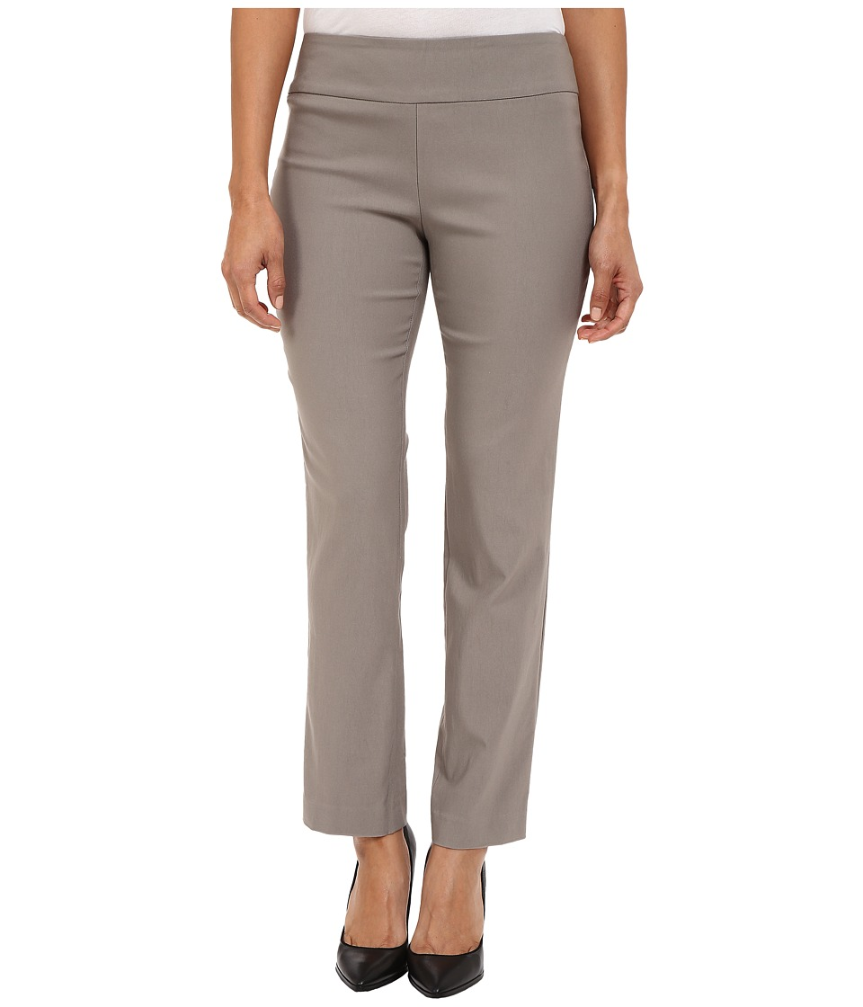 NIC+ZOE - Petite Wonderstretch Pant (Mushroom) Women's Dress Pants