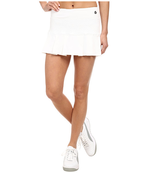 Trina Turk - Racquet Club Jacquard Tennis Skirt (White) Women