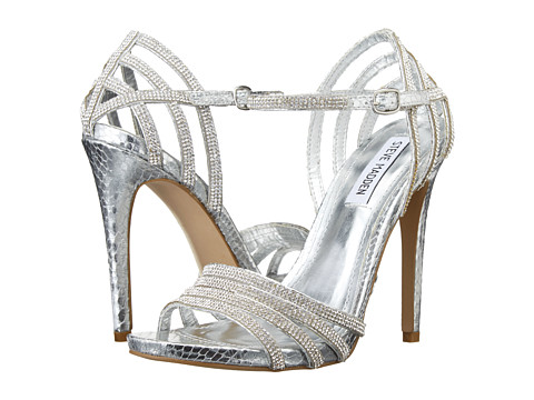 Steve Madden - Cagged (Silver Multi) High Heels