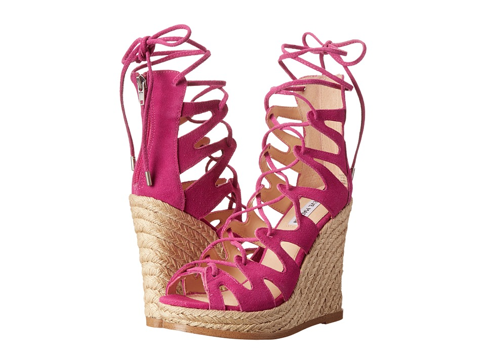 Steve Madden - Theea (Fuchsia Suede) Women's Shoes