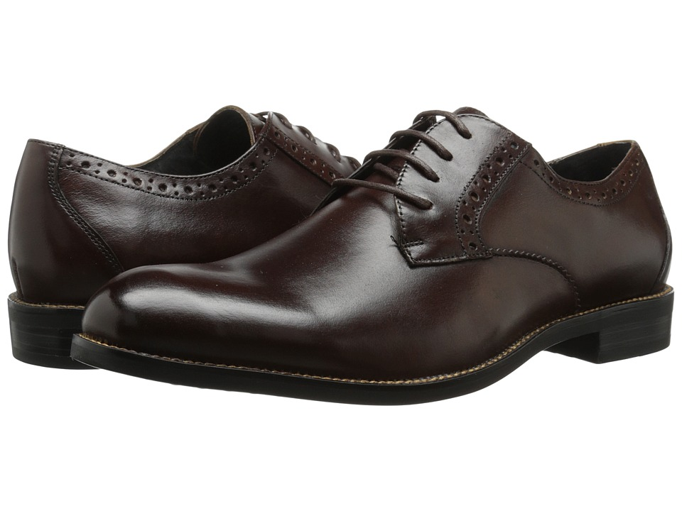 Stacy Adams - Graham (Brown) Men's Plain Toe Shoes