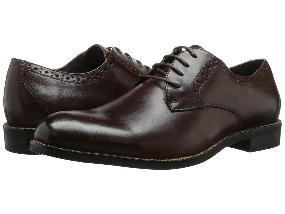 Stacy Adams - Graham (Brown) Men's Plain Toe Shoes