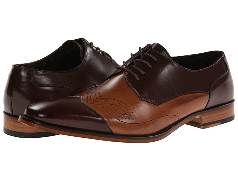 Stacy Adams - Tavin (Brown/Tan) Men's Shoes