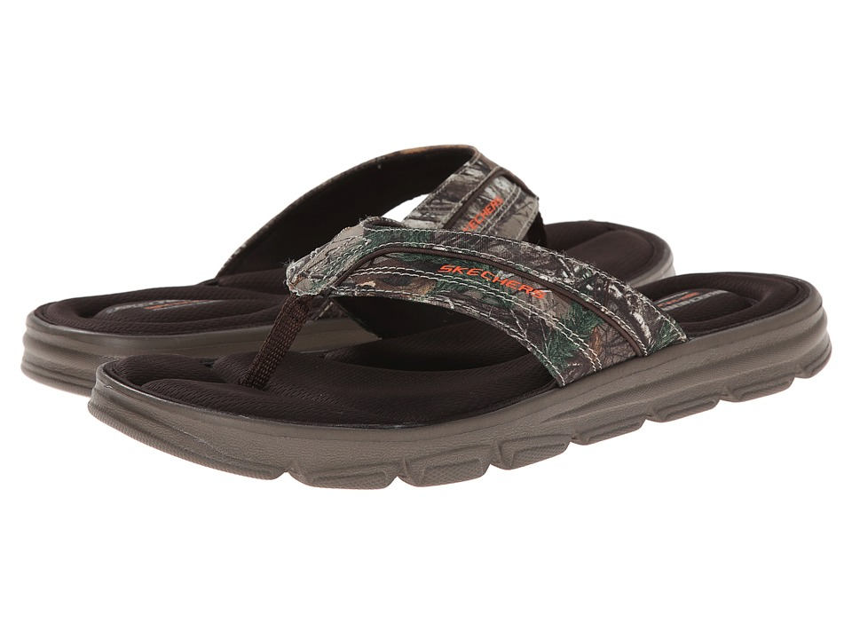 SKECHERS - Wind Swell Thong (Camo) Men's Sandals