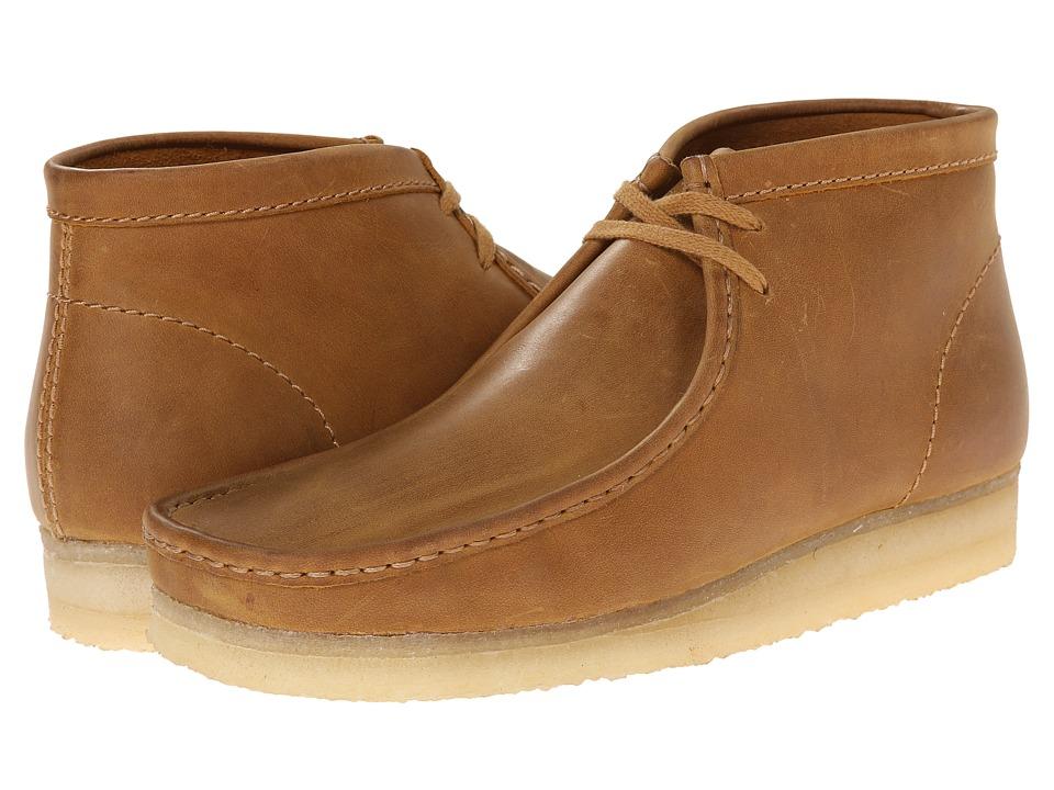 Clarks - Wallabee Boot (Mustard Leather) Men