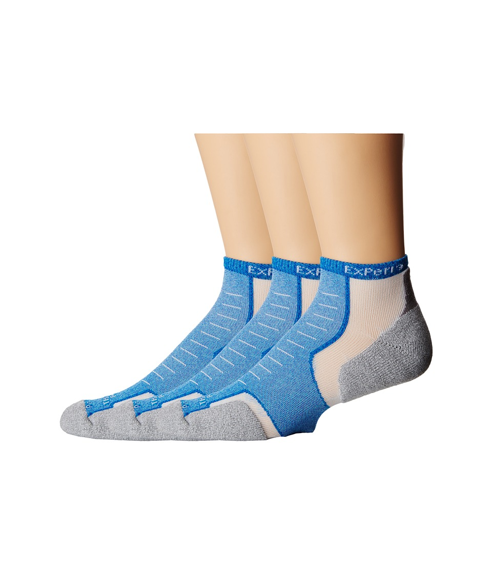 Thorlos - Experia Maui Micro Mini 3-Pack (Maui Ocean) Low Cut Socks Shoes