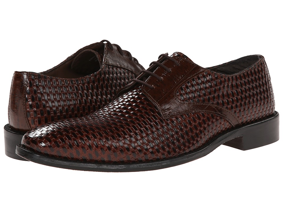 Stacy Adams - Sanfillipo (Cognac) Men's Plain Toe Shoes