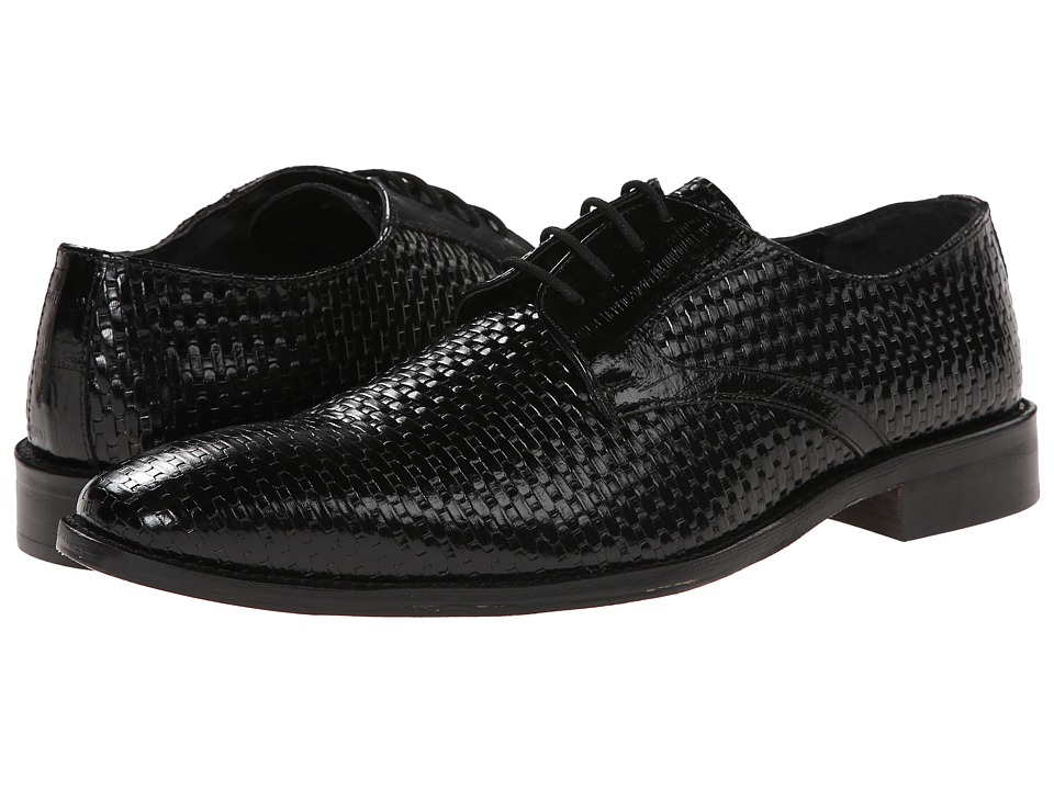 Stacy Adams - Sanfillipo (Black) Men's Plain Toe Shoes