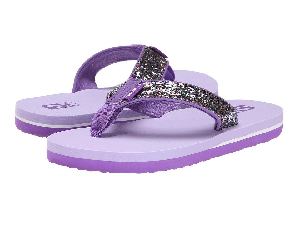 Teva Kids - Mush II (Toddler/Little Kid/Big Kid) (Purple Glitter) Girls Shoes