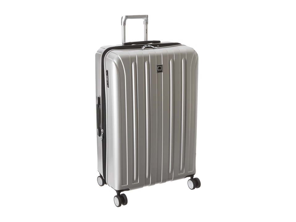 Delsey - Helium Titanium 29 Expandable Spinner Trolley (Silver) Luggage