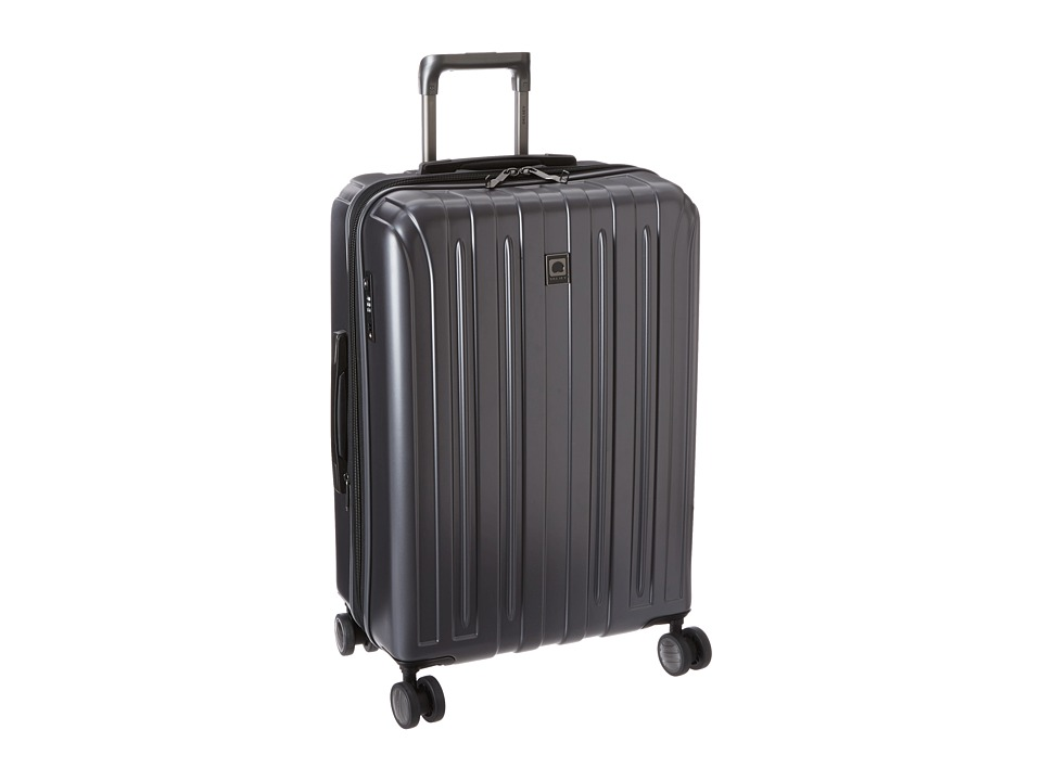 Delsey - Helium Titanium 25 Expandable Spinner Trolley (Graphite) Luggage