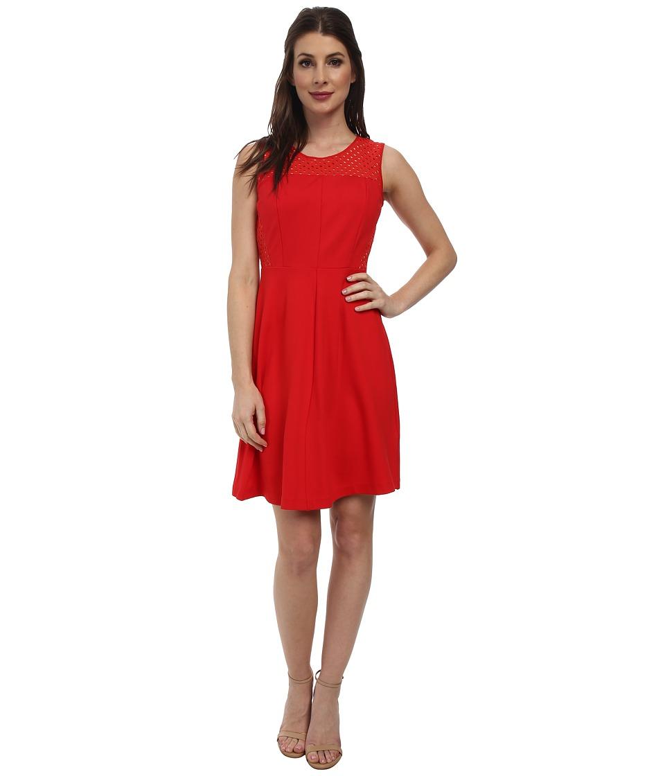 NYDJ - Tessa Dress (Vivid Red) Women's Dress