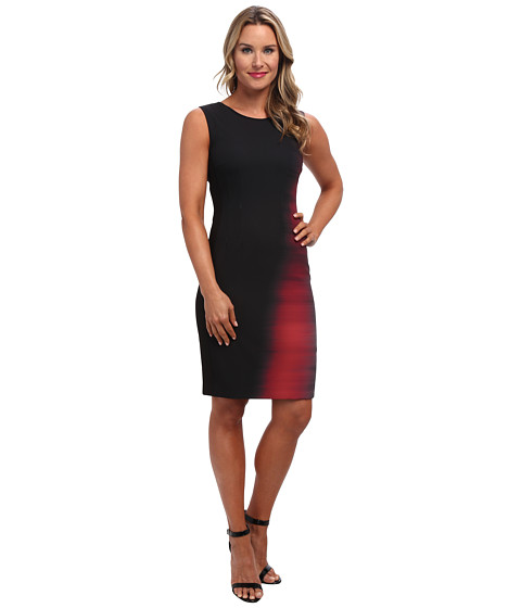 Elie Tahari - Emory Dress (Ruby) Women
