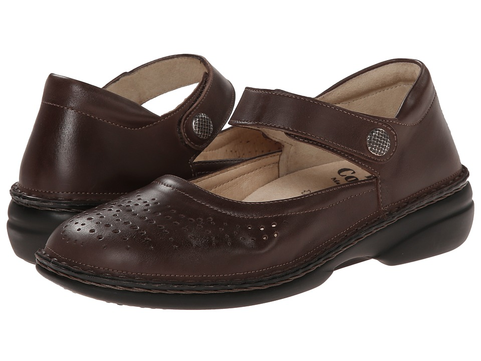 Finn Comfort - Bellevue - S (Kaffee) Women's Shoes