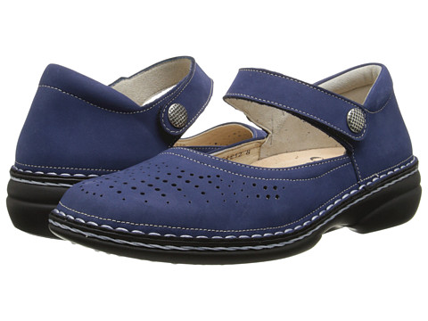 Finn Comfort - Bellevue - S (Blue) Women's Shoes
