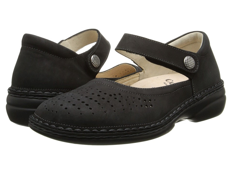 Finn Comfort - Bellevue - S (Black) Women's Shoes