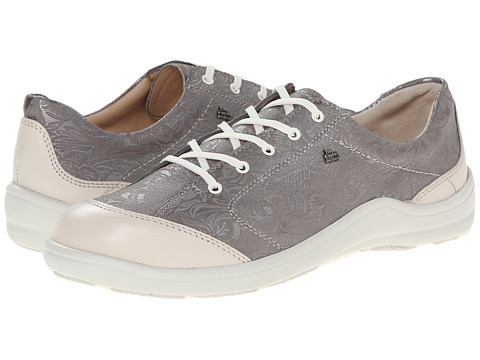 Finn Comfort - Cusco - S (Silver) Women's Lace up casual Shoes