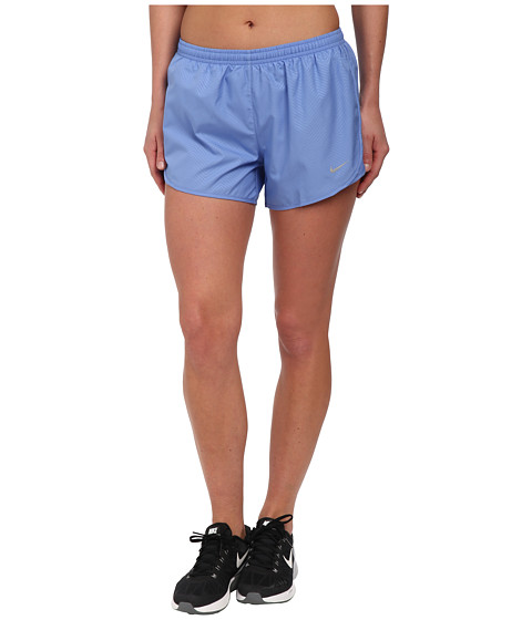 Nike - Modern Embossed Tempo Short (Polar/Polar/Black/Reflective Silver) Women's Shorts
