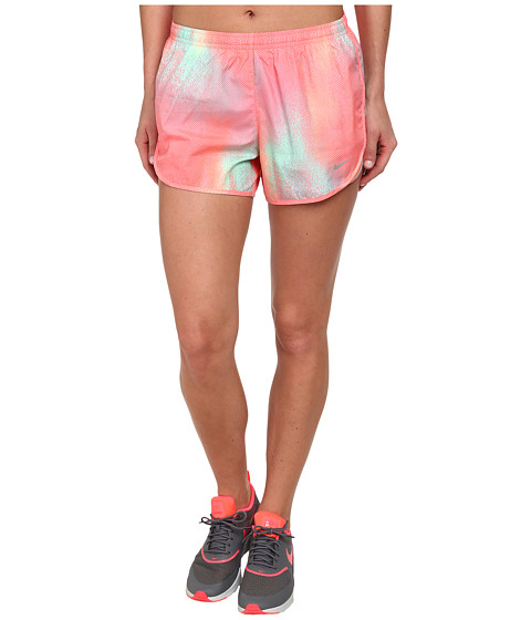 Nike - Printed Mod Tempo Short (Sunblush/Reflective Silver) Women's Shorts