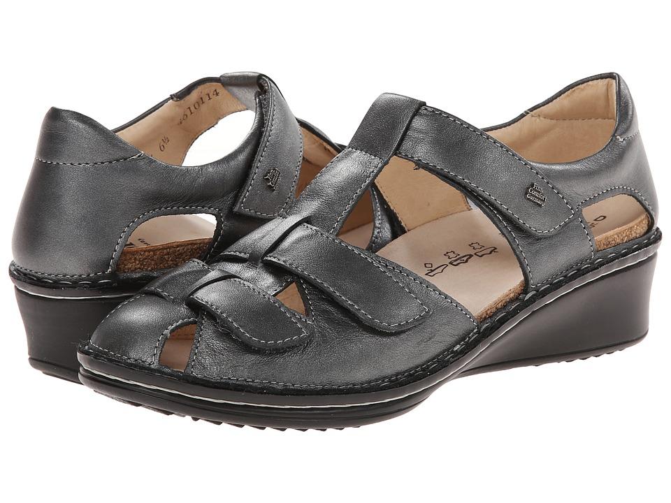 Finn Comfort - Funen (Pewter) Women's Wedge Shoes