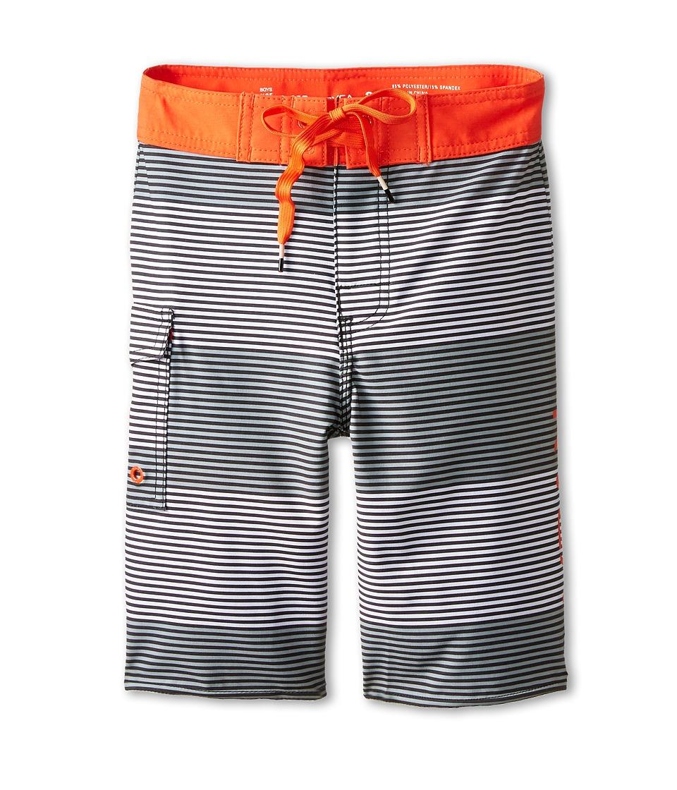 RVCA Kids - Civil Trunk Boardshort (Big Kids) (Fiesta) Boy's Swimwear