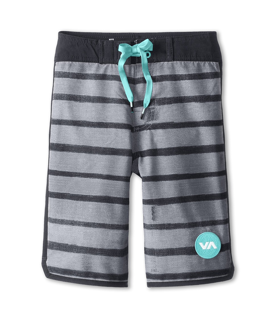 RVCA Kids - Yours Truly Boardshort (Big Kids) (Black) Boy's Swimwear