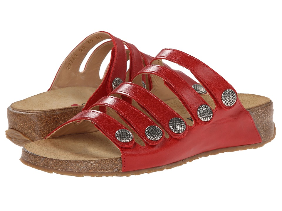 Haflinger - Payton (Cherry) Women's Sandals