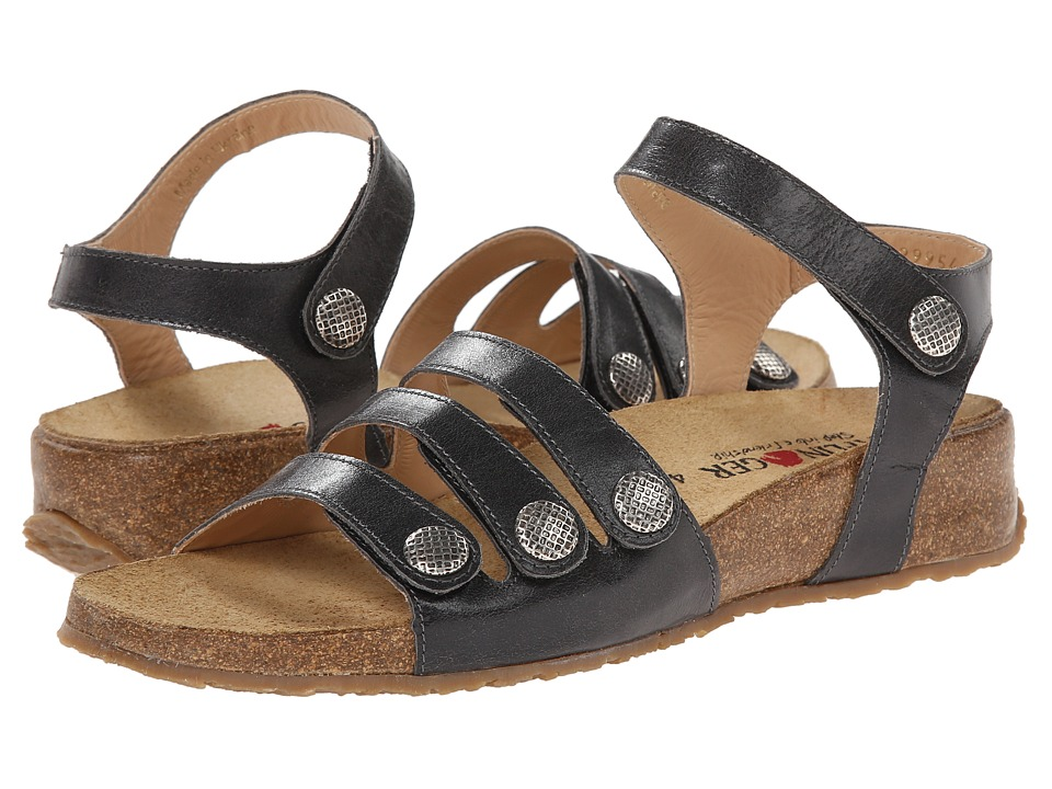 Haflinger - Paige (Graphite) Women's Sandals