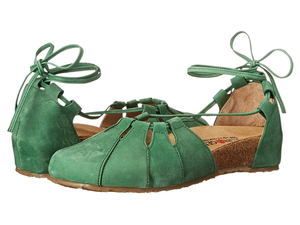 Haflinger - Eva (Emerald) Women's Flat Shoes
