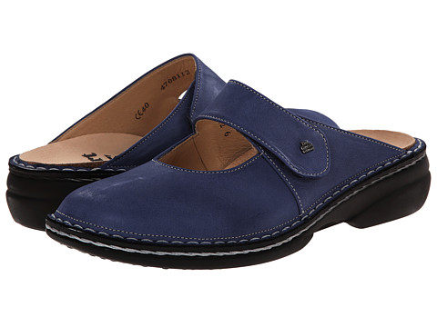Finn Comfort - Stanford - 2552 (Blue) Women's Clog Shoes