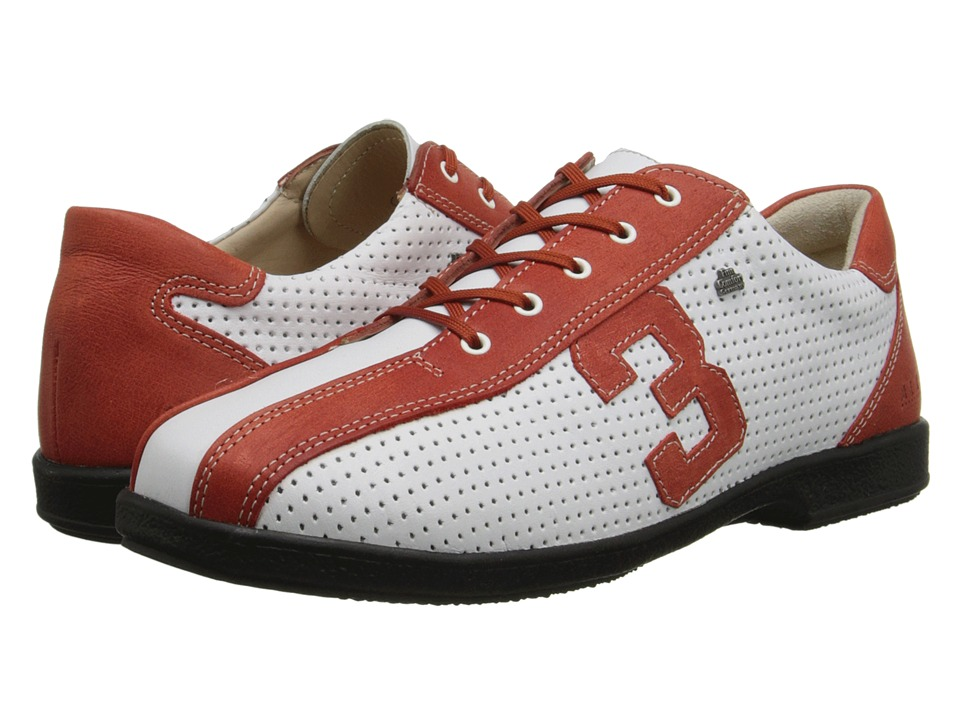Finn Comfort - Yebisu - S (Amore/White) Women's Lace up casual Shoes