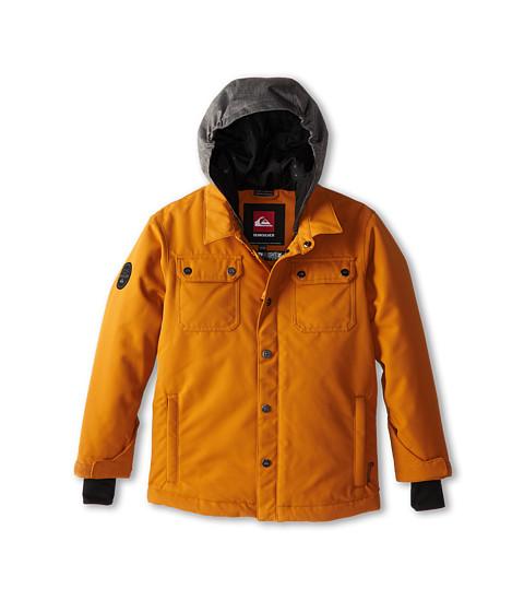 Quiksilver Kids - Amplify Jacket (Big Kids) (Sudan Brown) Boy's Coat