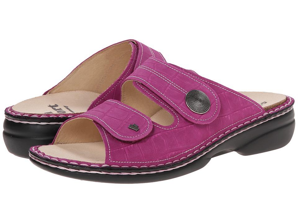 Finn Comfort - Sansibar (Fuxia) Women's Slide Shoes
